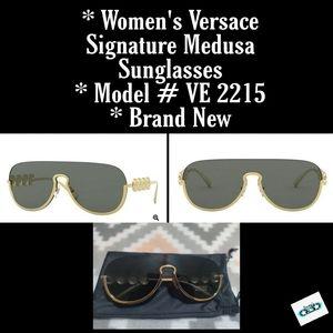 Women's VE2215 Versace Medusa Sunglasses 😎💋